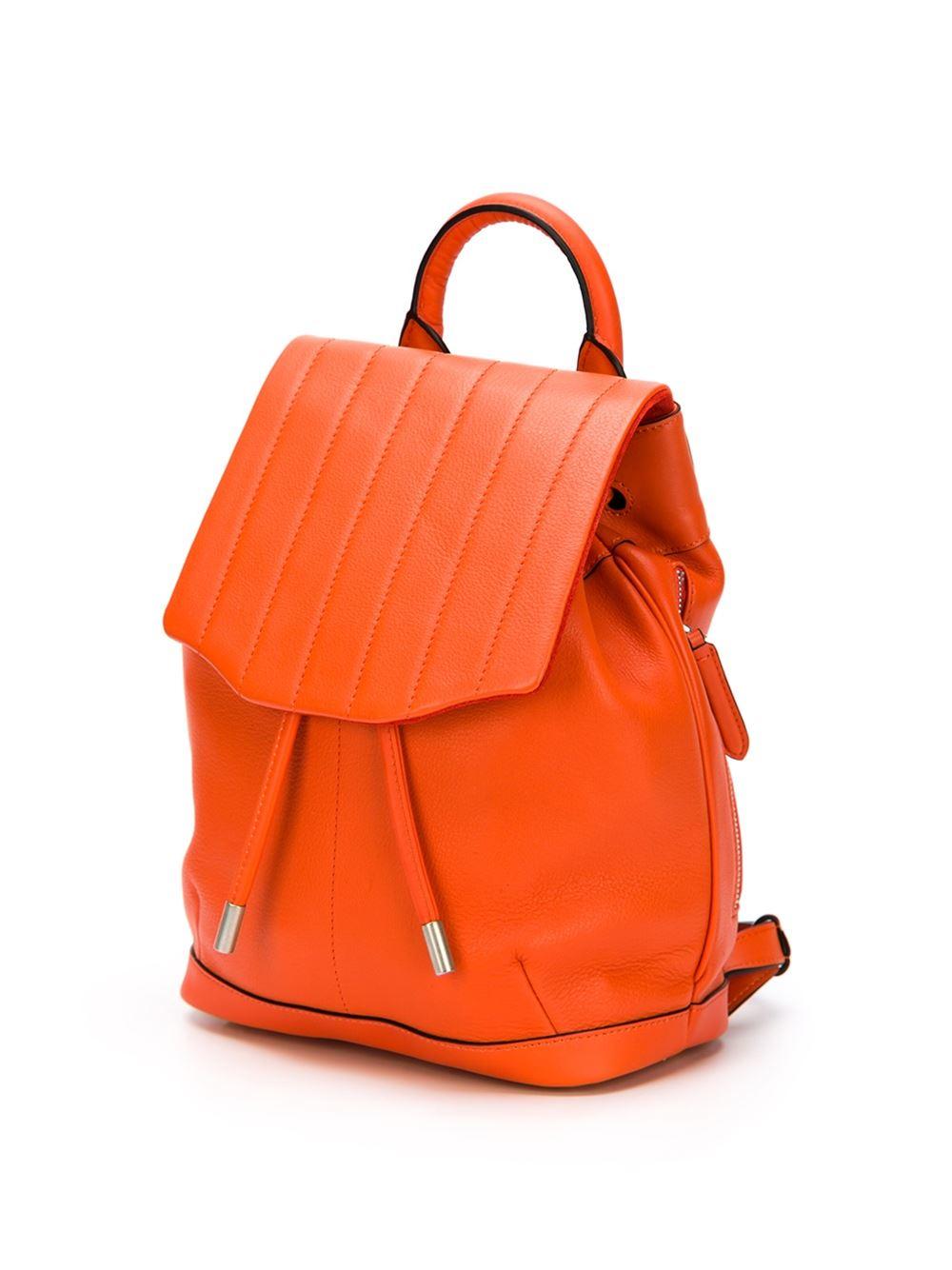 Rag & Bone Mini 'pilot' Backpack in Yellow & Orange (Orange)