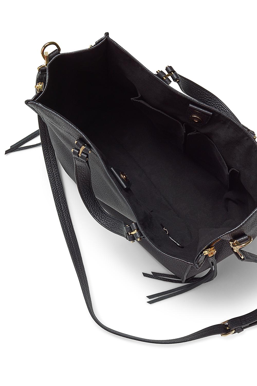 Rebecca Minkoff Leather Blair Tote in Black