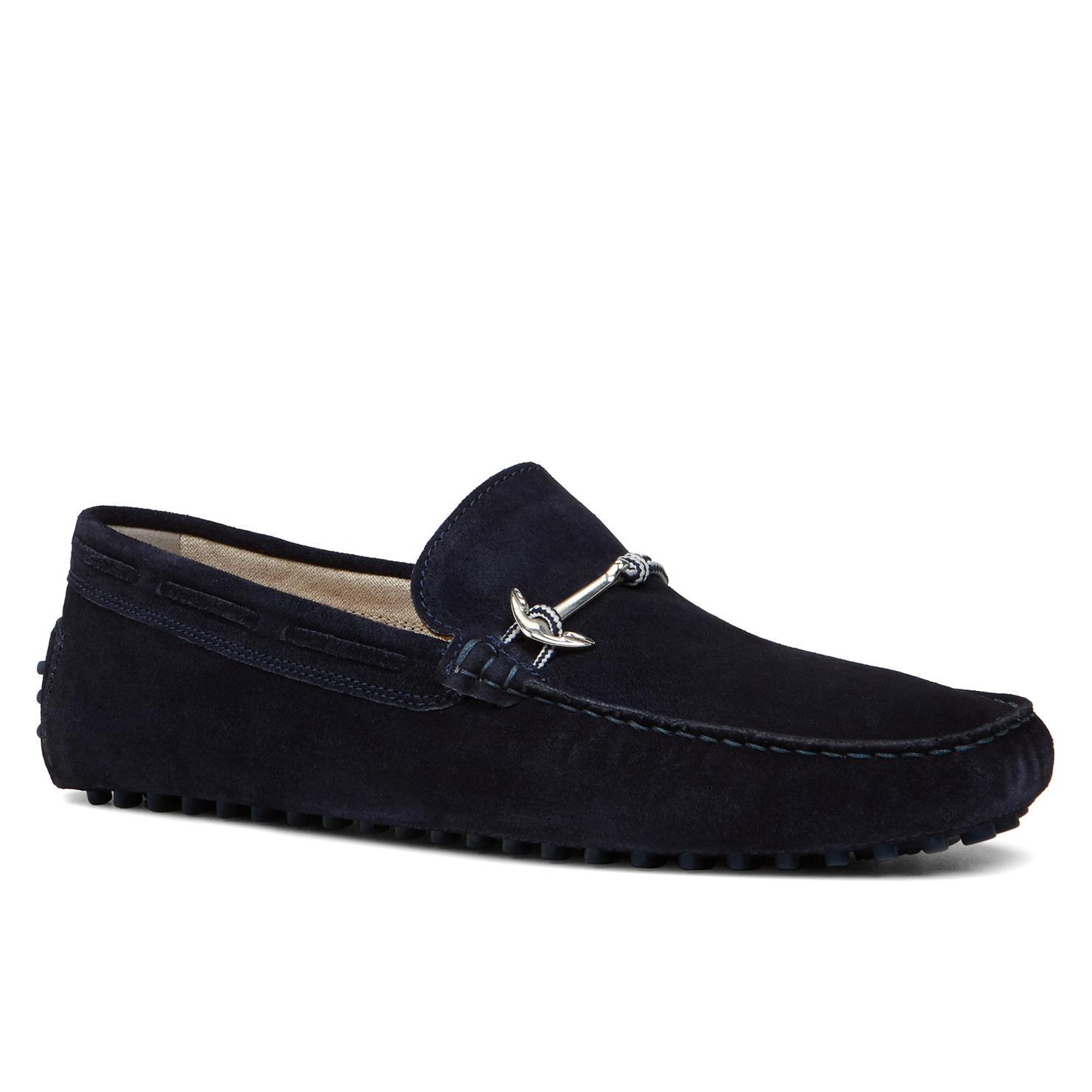 Blue Suede Aldo Shoes