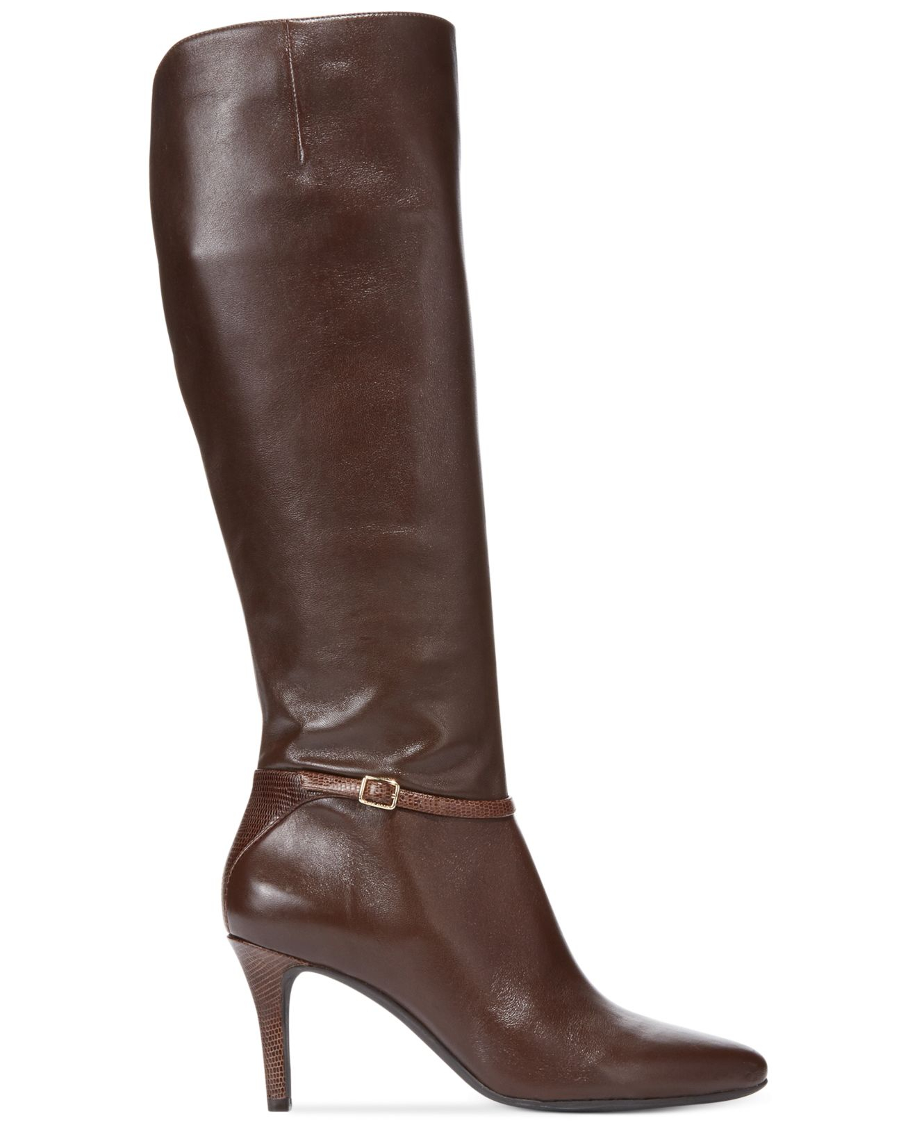 cole haan s garner dress boots in brown lyst