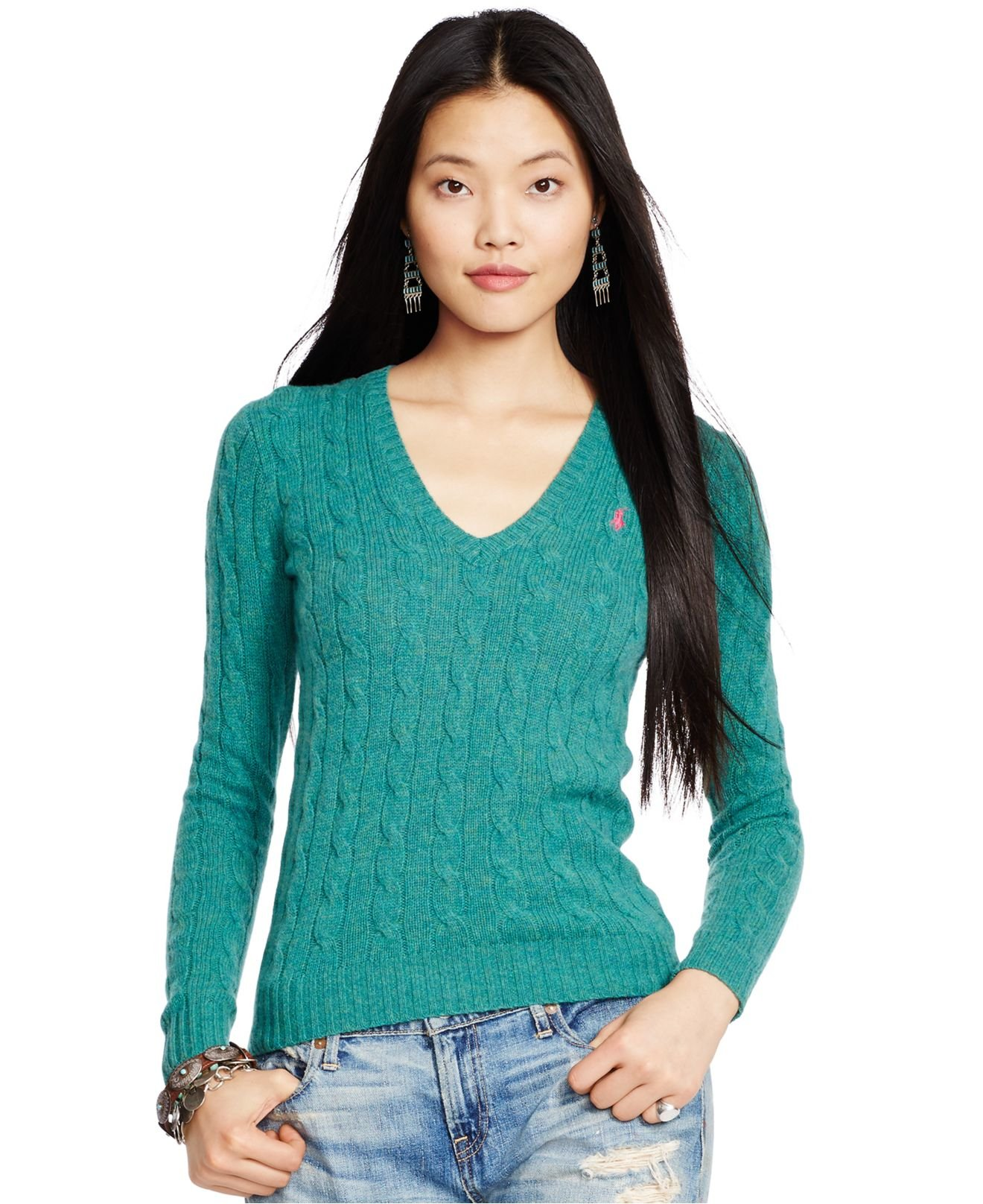 Free shipping BOTH ways on v neck cable knit sweater, from our vast selection of styles. Fast delivery, and 24/7/ real-person service with a smile. Click or call