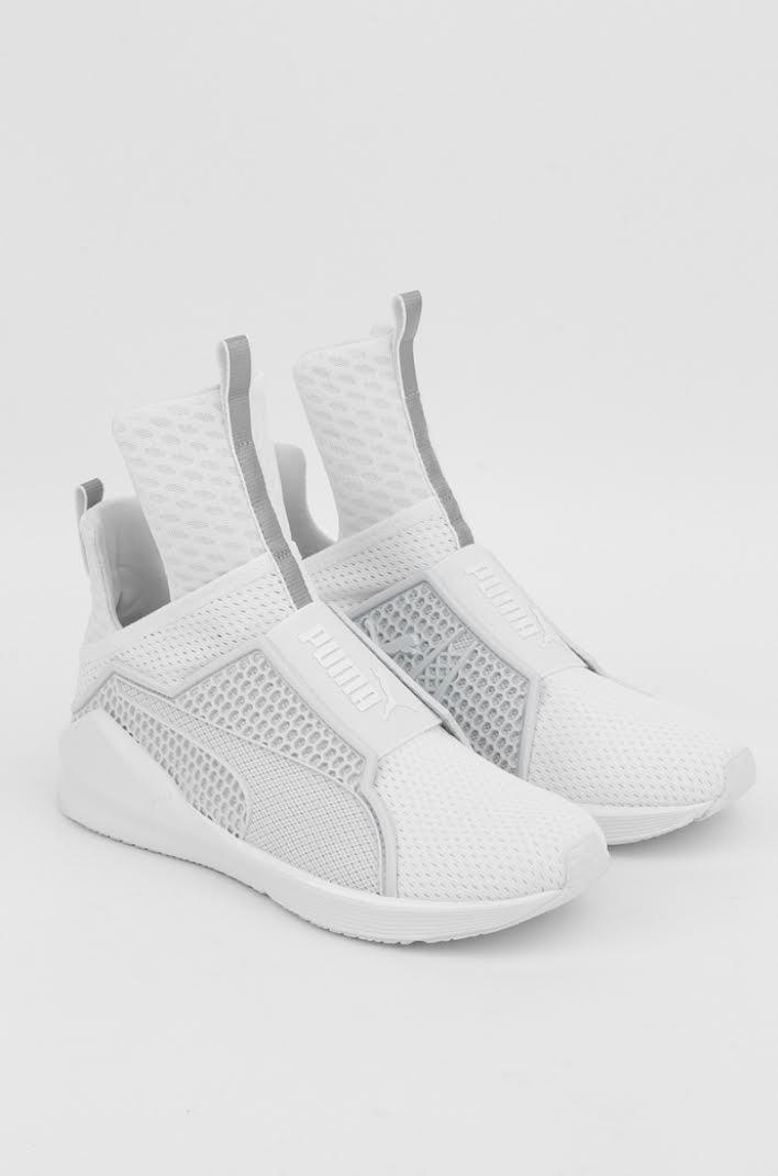 fenty puma white sneakers