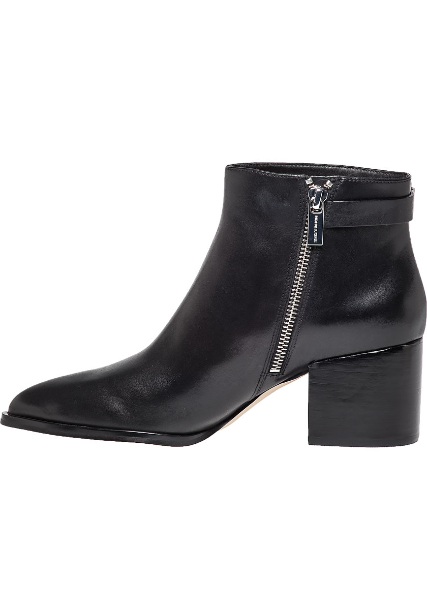 Lyst Michael Michael Kors Saylor Buckled Leather Boots