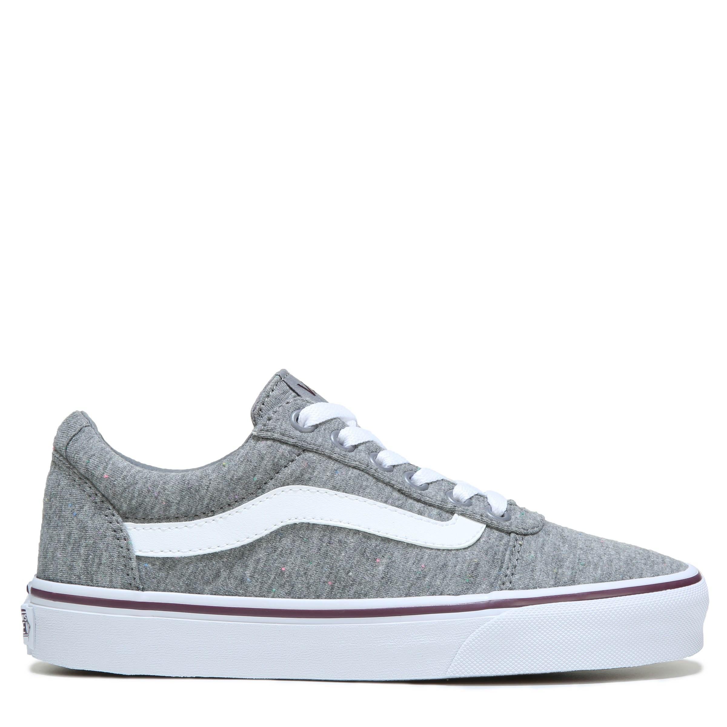 gray vans low top
