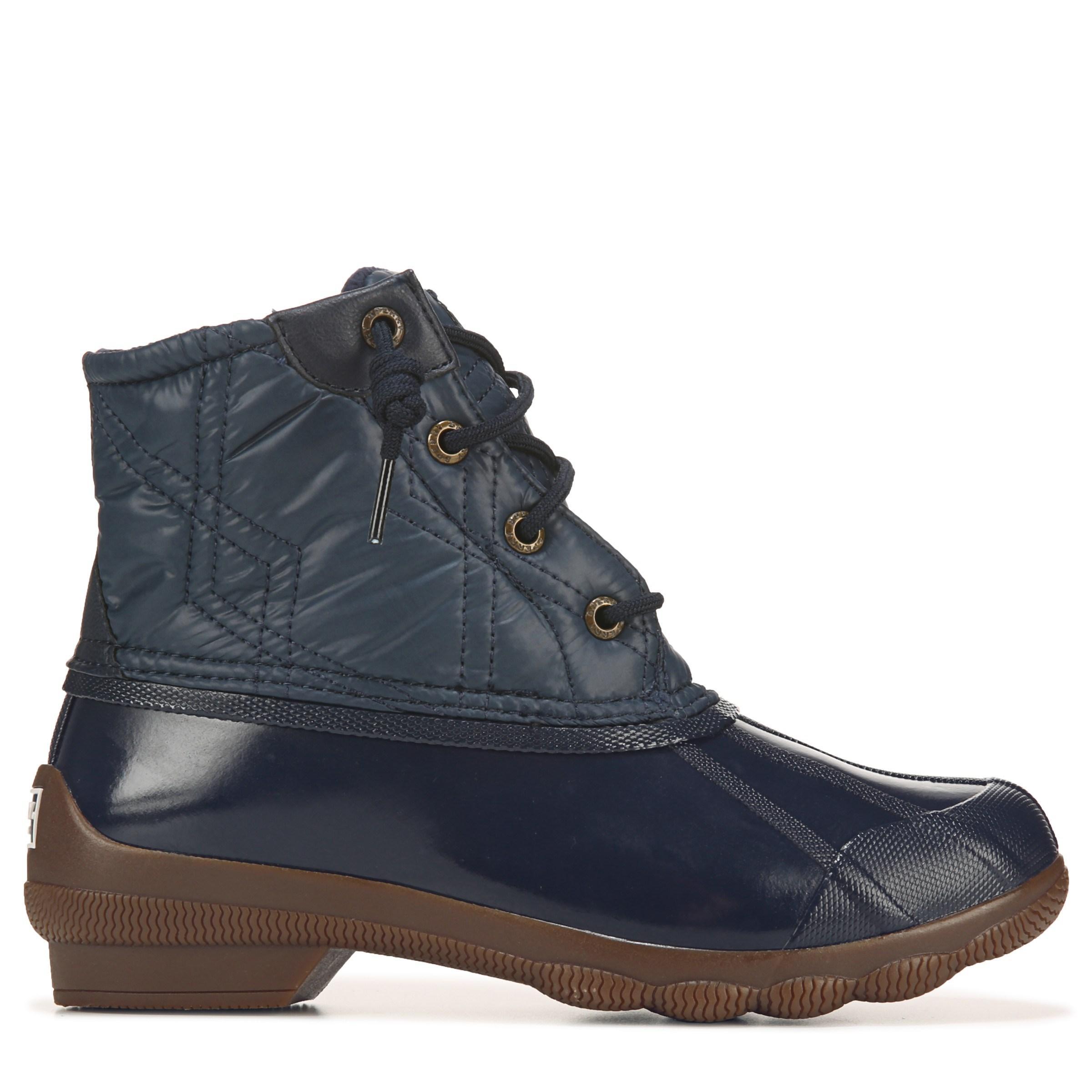 Sperry Top-Sider Syren Waterproof Duck Boots In Navy Blue -3845