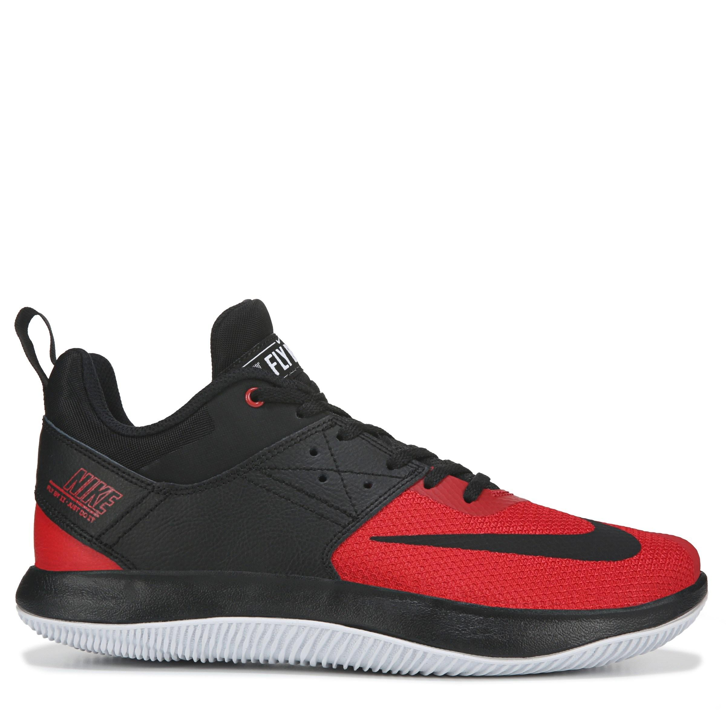 Nike Leather Fly.by Low Ii Basketball