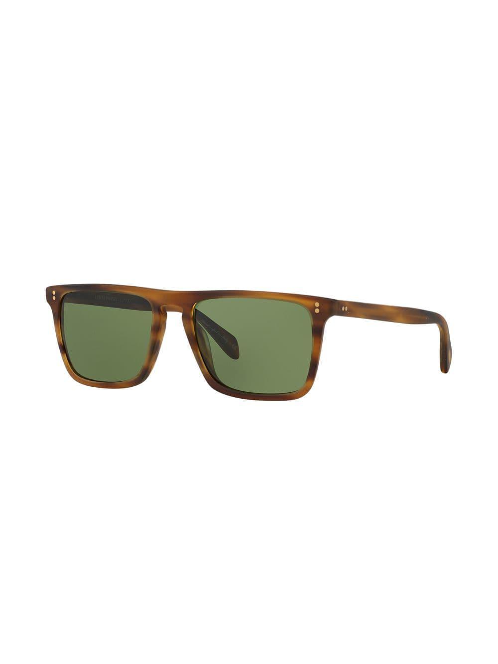 af7295a23df Oliver Peoples - Brown Bernardo Sunglasses for Men - Lyst. View fullscreen