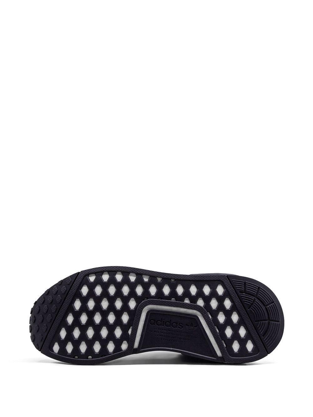 Zapatillas NMD_R1 W adidas de Tejido sintético de color Gris