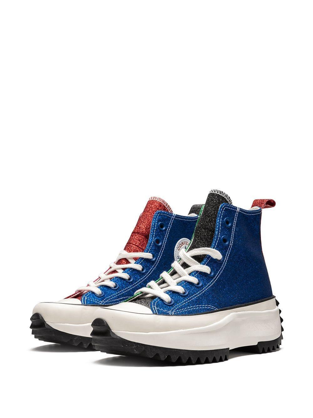 Baskets x JWA Run Star Caoutchouc Converse pour homme en coloris Bleu Yt5d