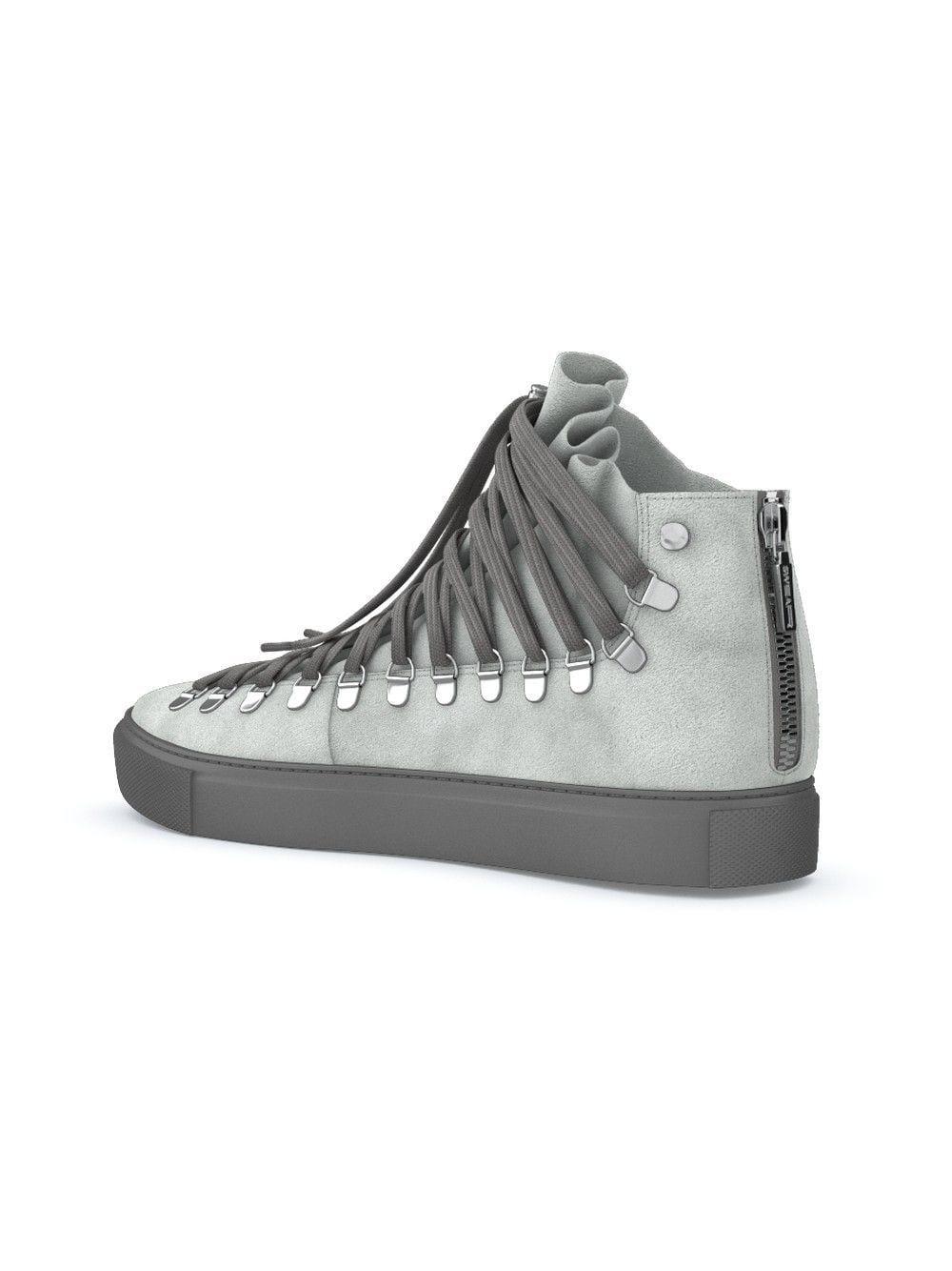 Zapatillas Redchurch de personalización rápida Swear de Encaje de color Gris para hombre