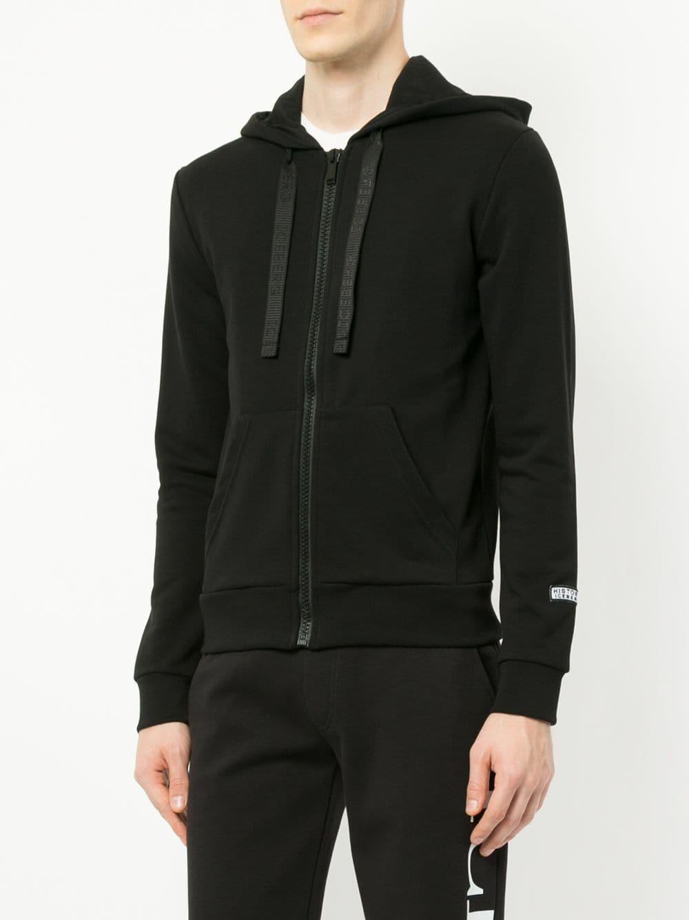 Iceberg Cotton Taz Embroidered Jacket in Black for Men