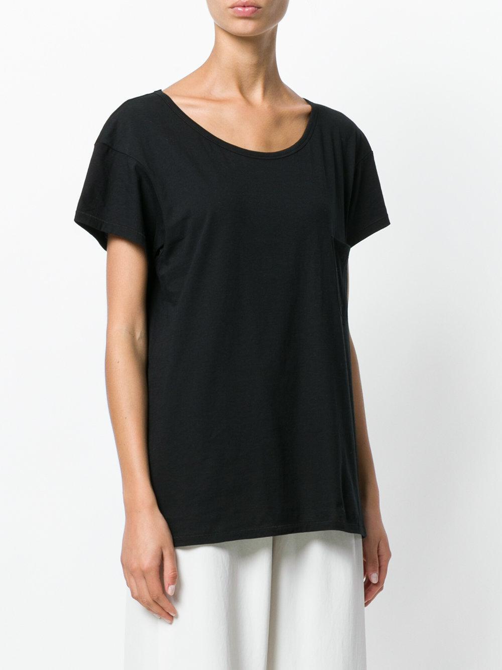 lyst the white briefs paris t shirt in black. Black Bedroom Furniture Sets. Home Design Ideas