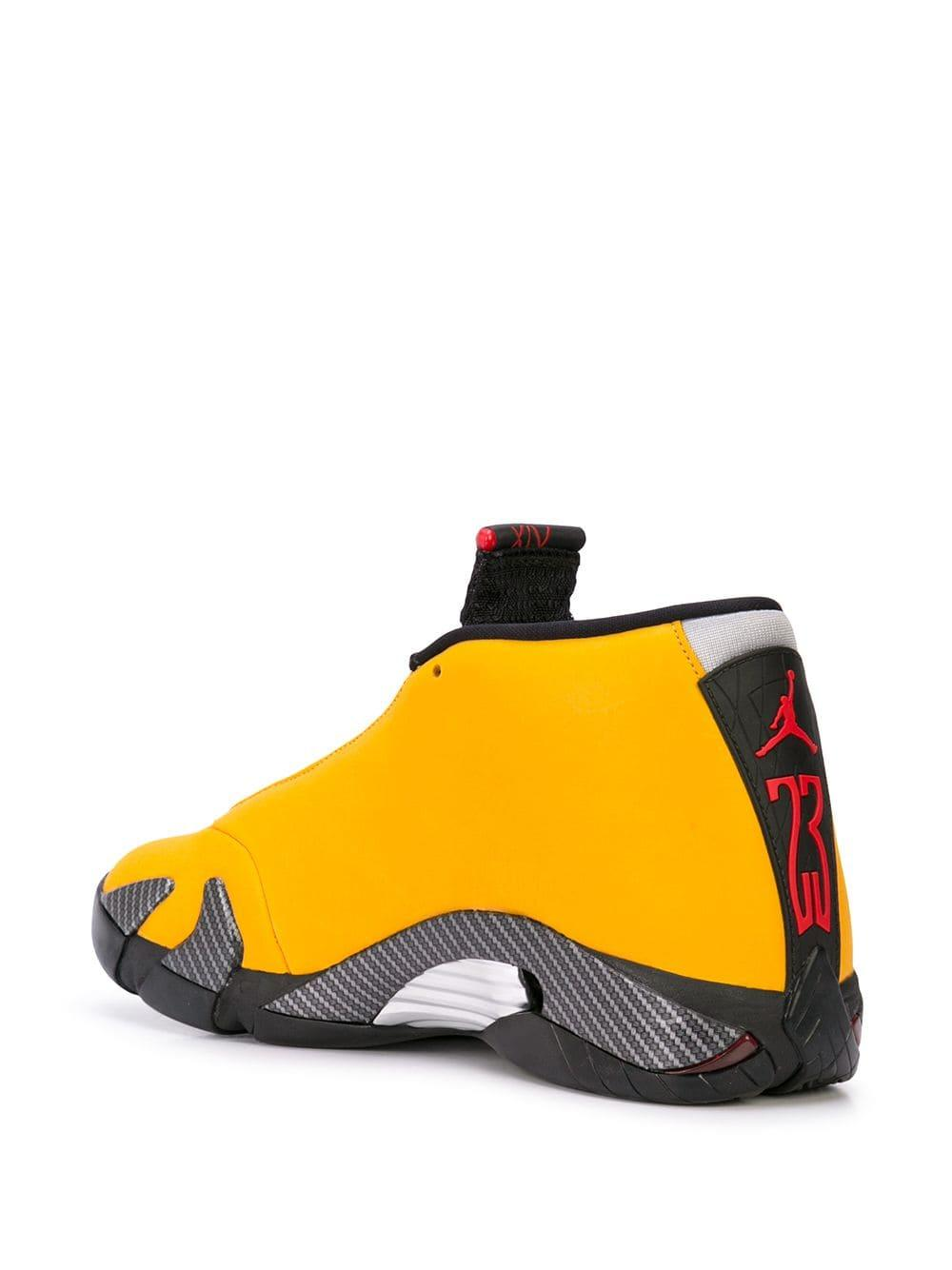 Zapatillas 14 Retro Reverse Ferarri Nike de Tejido sintético de color Amarillo