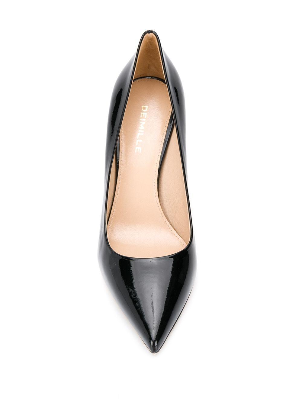 Zapatos de tacón Vernice Deimille de Cuero de color Negro