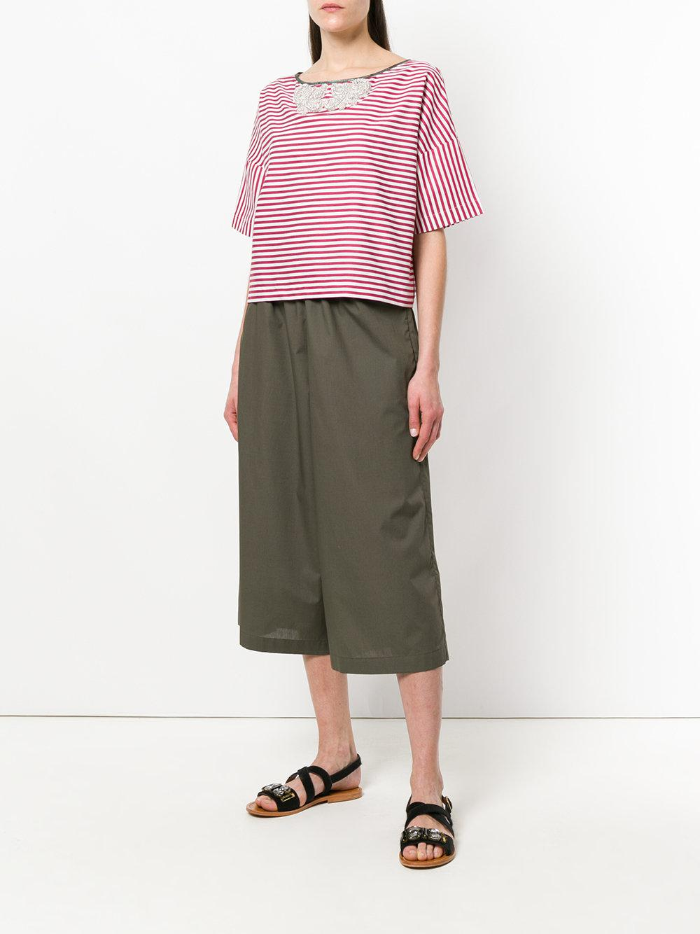 cropped palazzo trousers - Green Antonio Marras Pictures GrNmIH