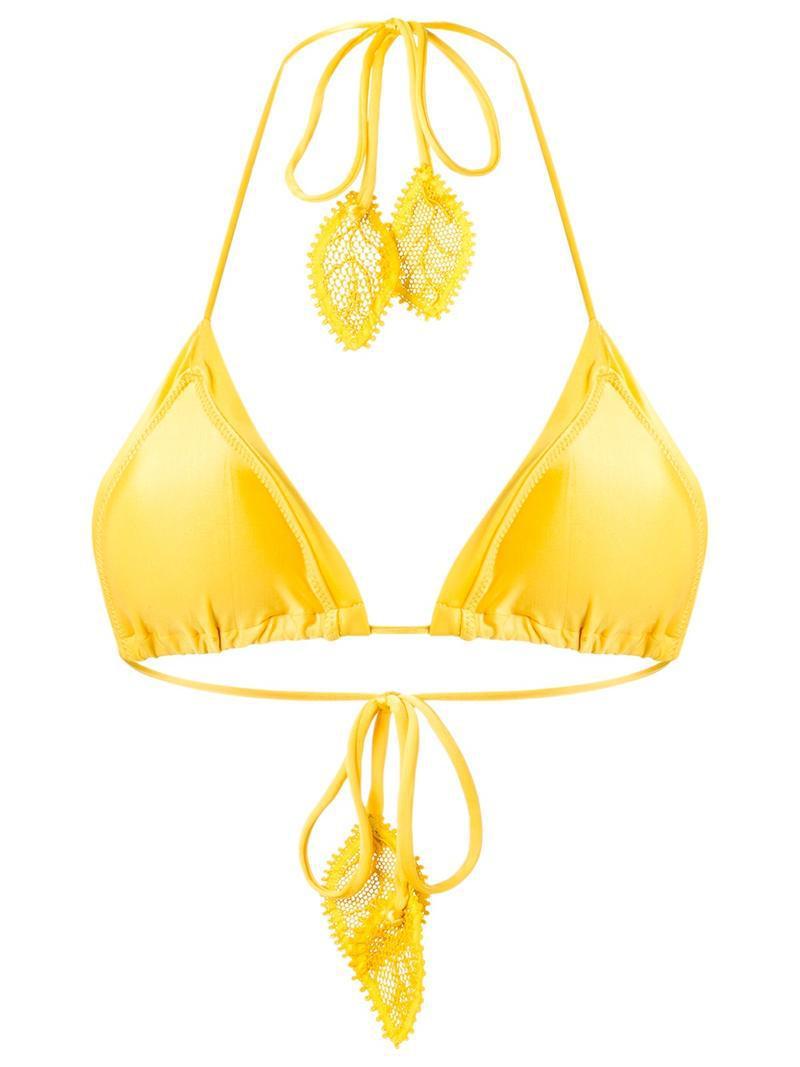 side tie bikini bottom - Yellow & Orange Martha Medeiros Cheap Latest Collections Free Shipping 100% Authentic AsqhpxvfRk
