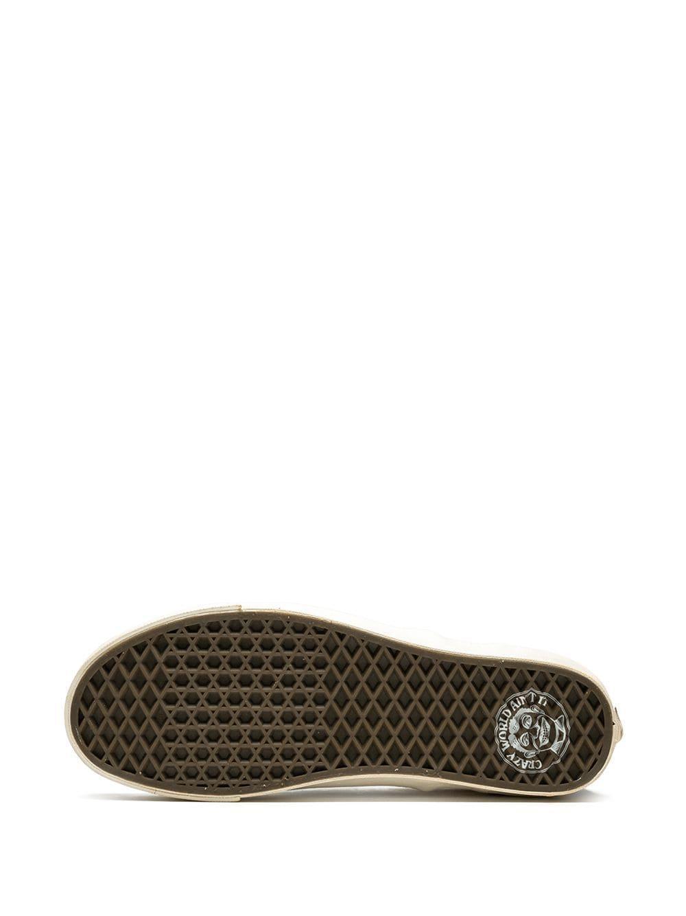 Vans Canvas Slip-on Sneakers in het Rood voor heren