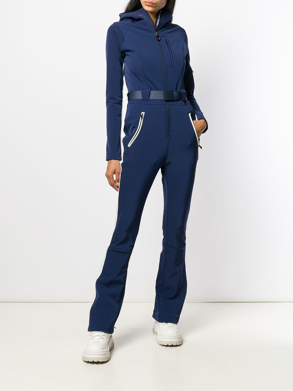 5b9184544041 Lyst - Perfect Moment Gt Ski Jumpsuit in Blue