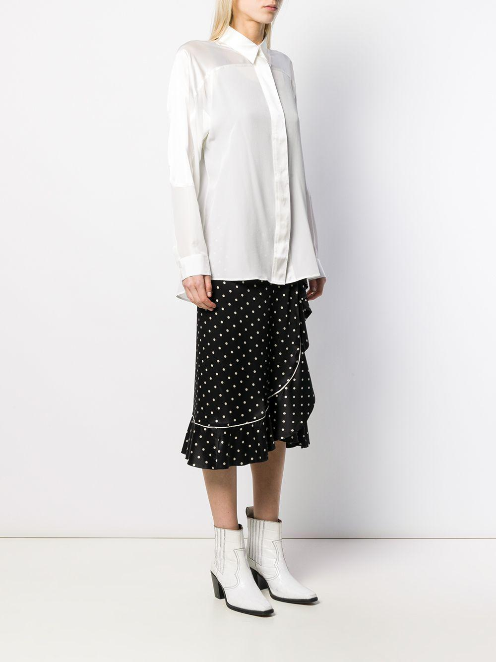 Chemise Pearl Soie Barbara Bui en coloris Blanc