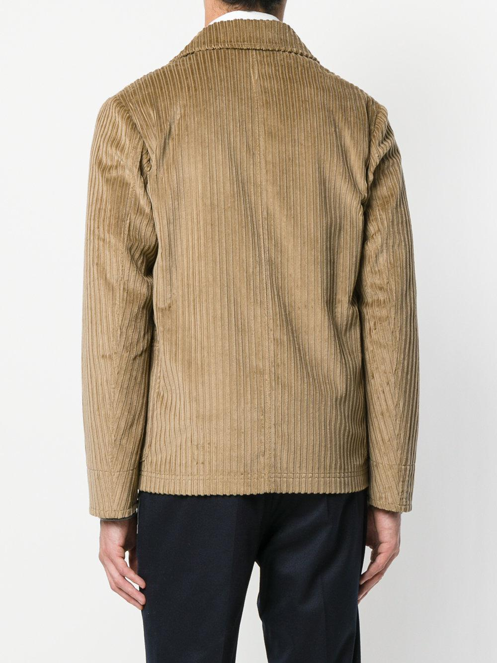 The Gigi Corduroy Jacket in Brown for Men