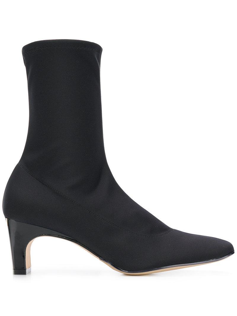 Godiva sock boots - Black Sergio Rossi KolpN
