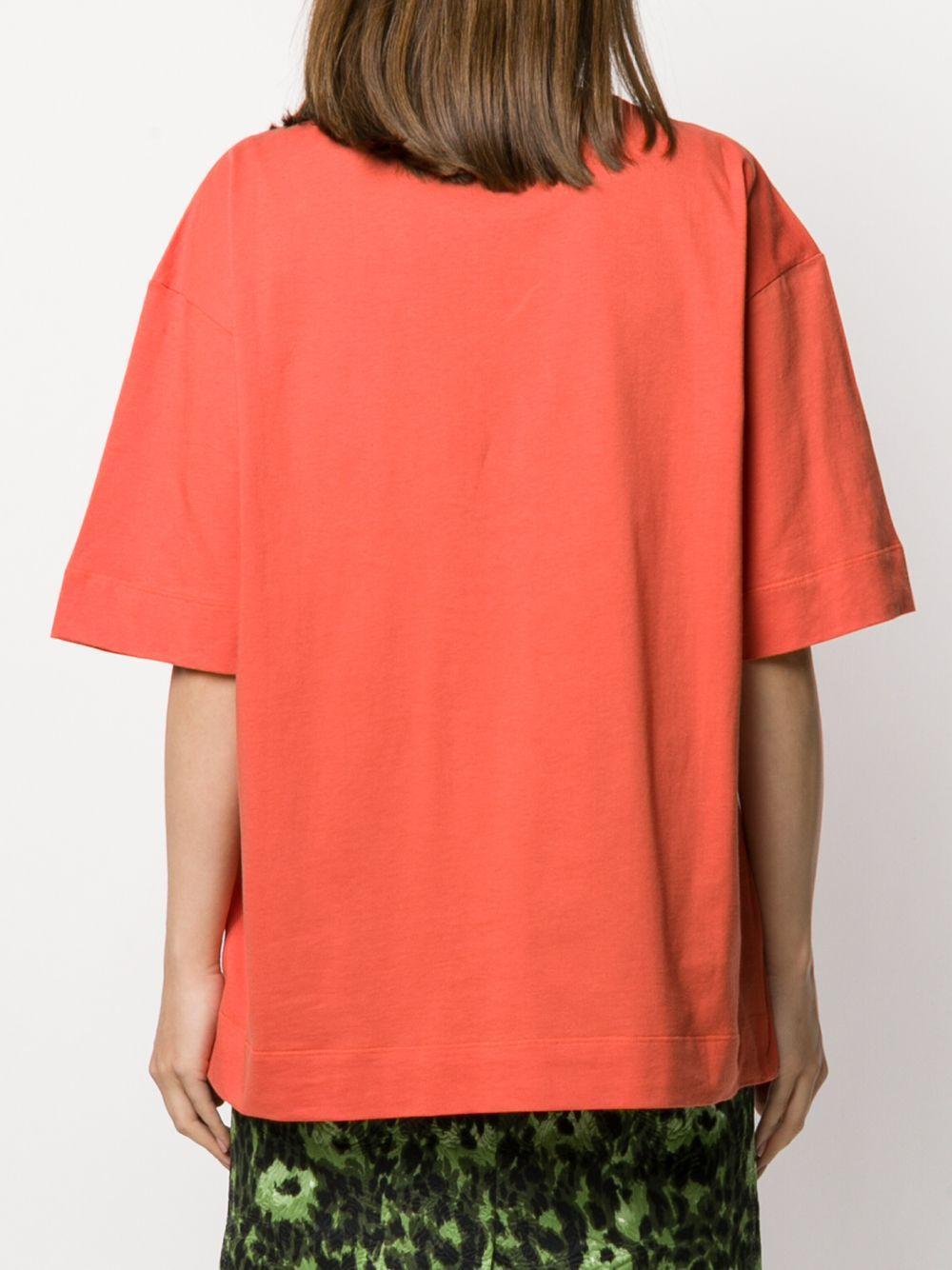 T-shirt à logo imprimé Marni en coloris Orange