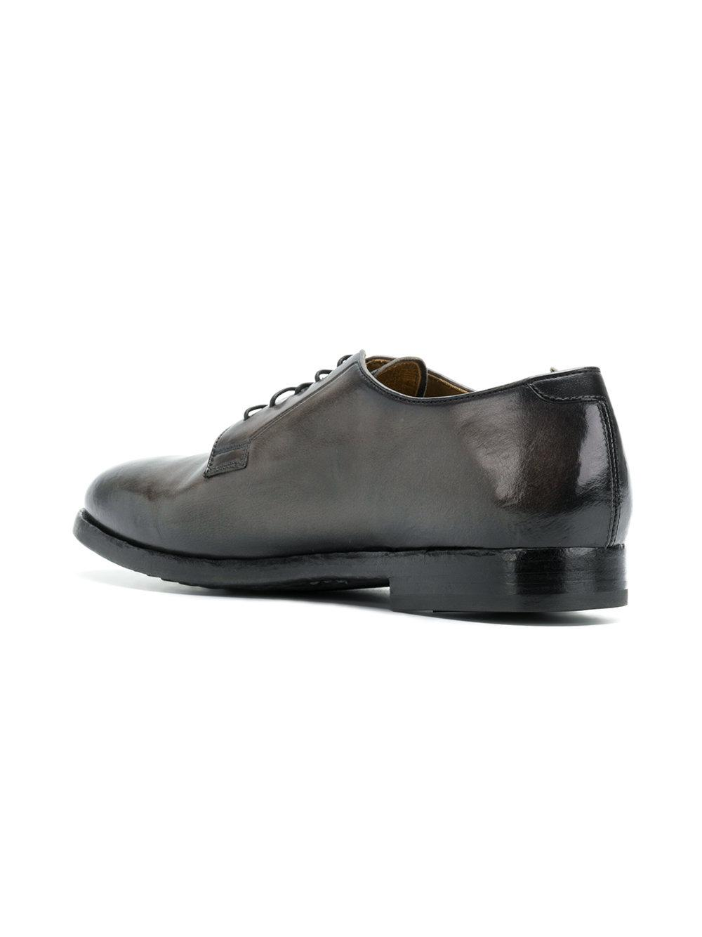 Lace Up For Creative Shoes Officine Men Gray Herve T31JFclK