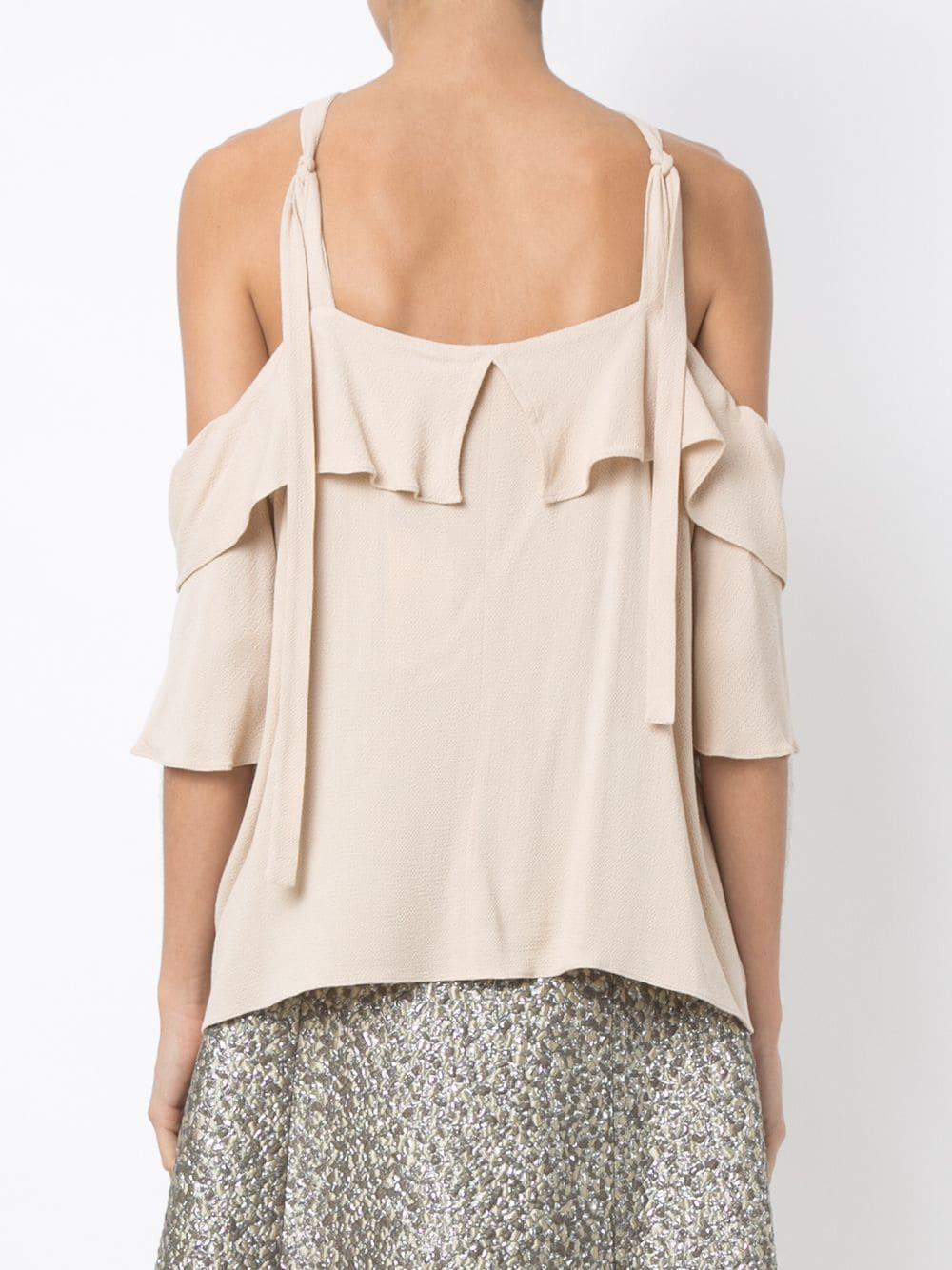 Could shoulder blouse Olympiah en coloris Neutre
