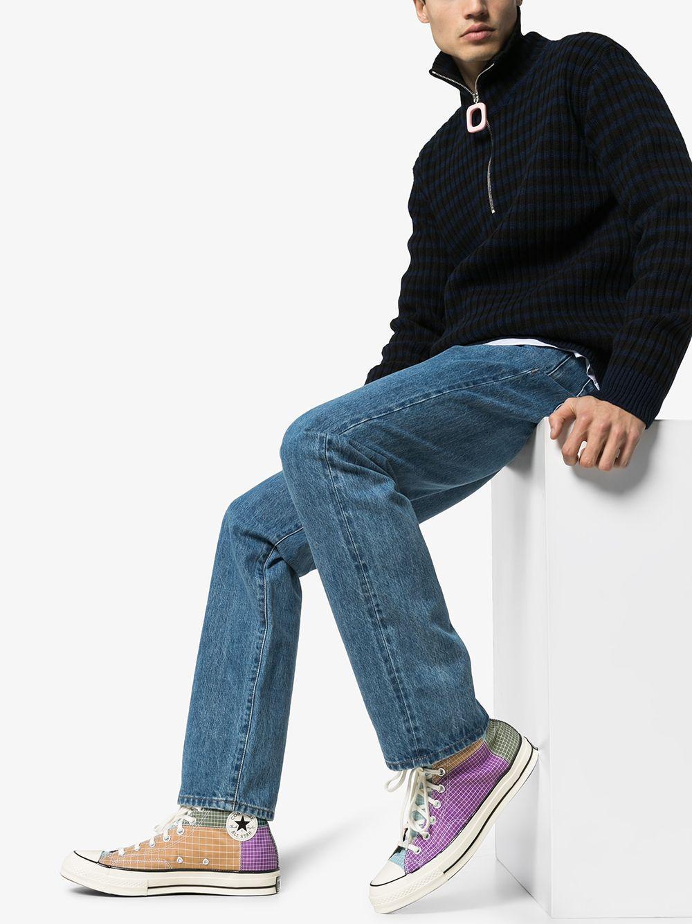 Converse Quad Ripstop High-top Sneakers in het Bruin voor heren