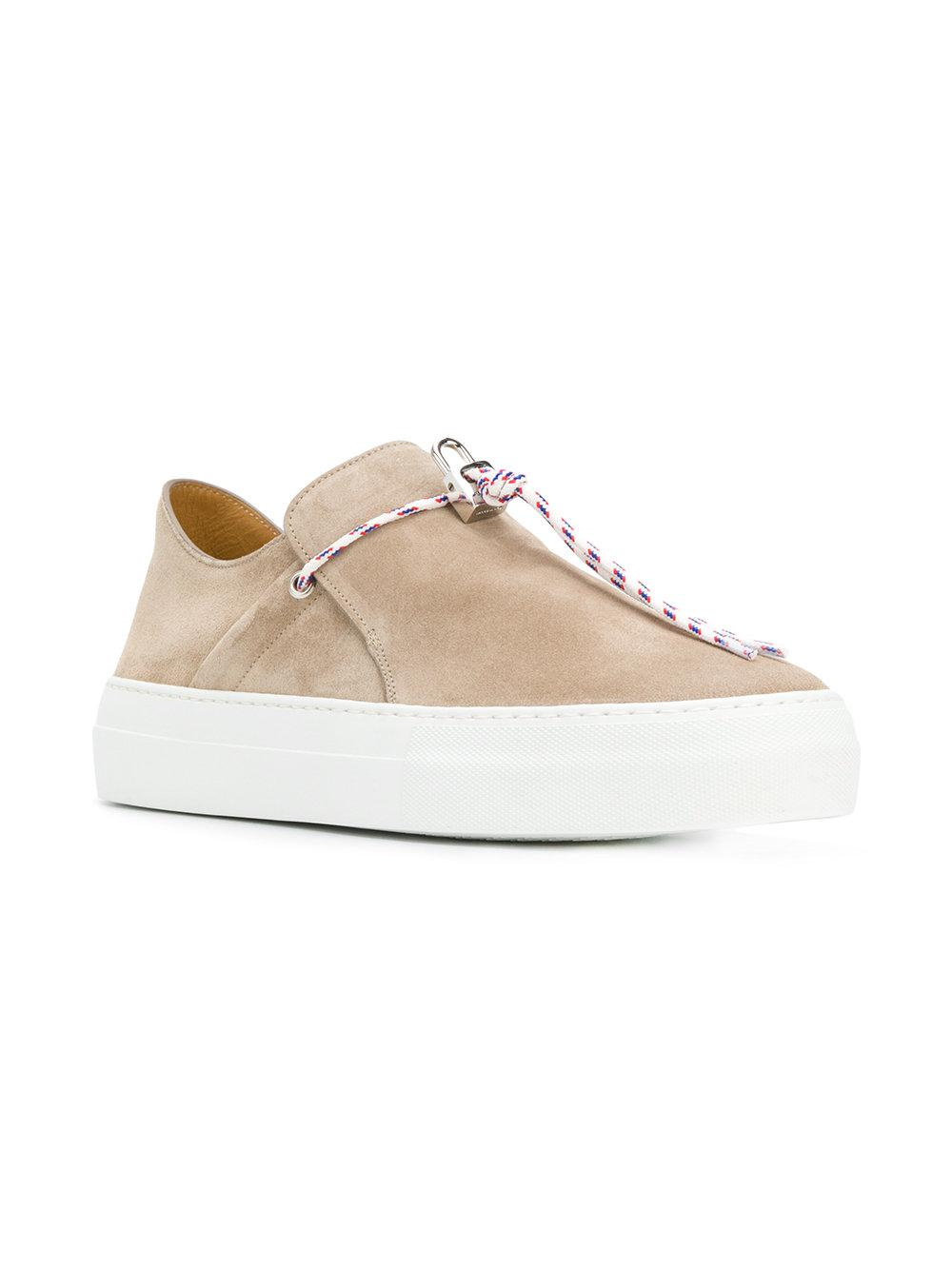 Sabot Campo sneakers - Nude & Neutrals Buscemi TGenr