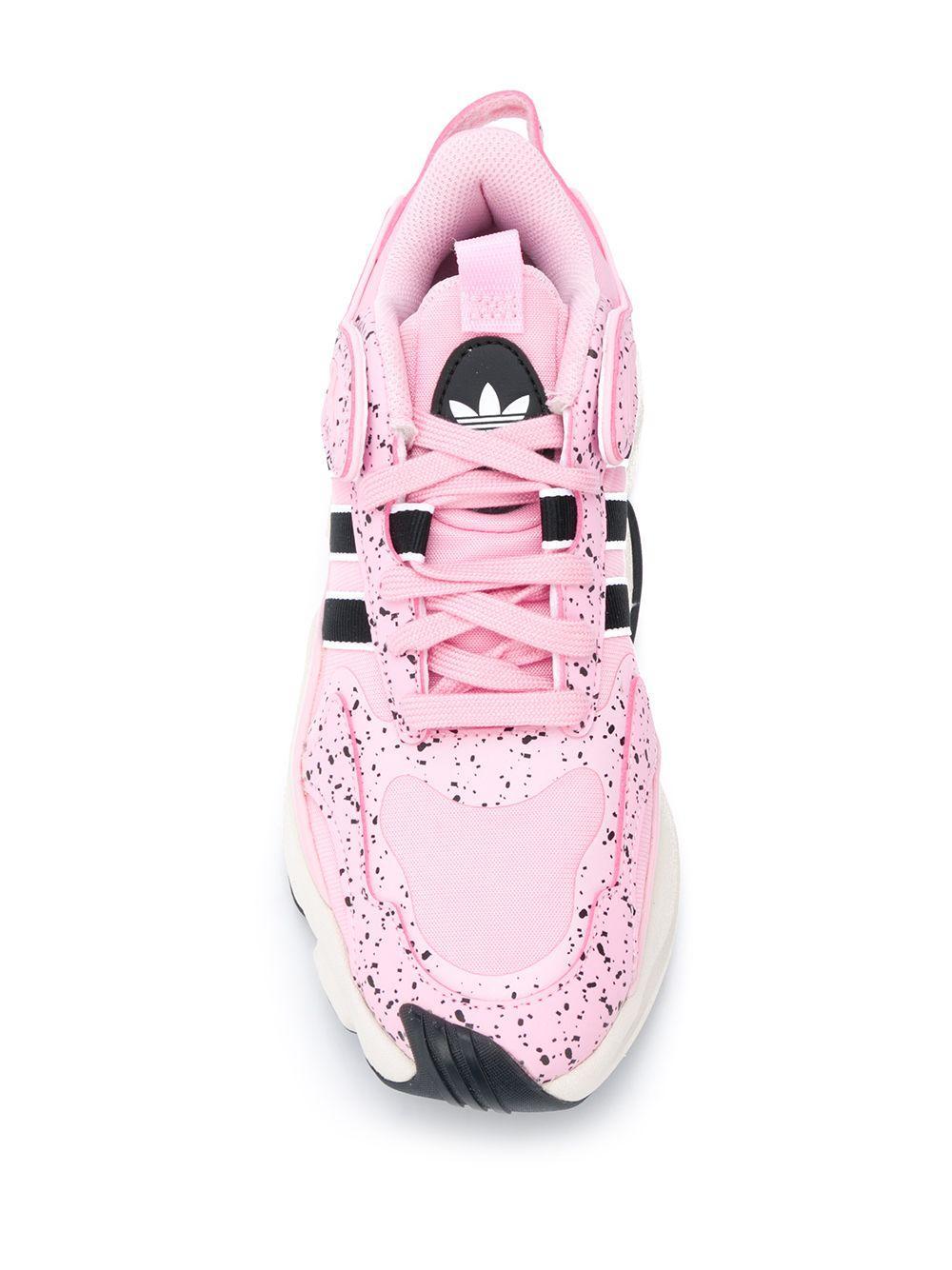 Zapatillas con raya lateral adidas de Cuero de color Rosa: ahorra un 43 %