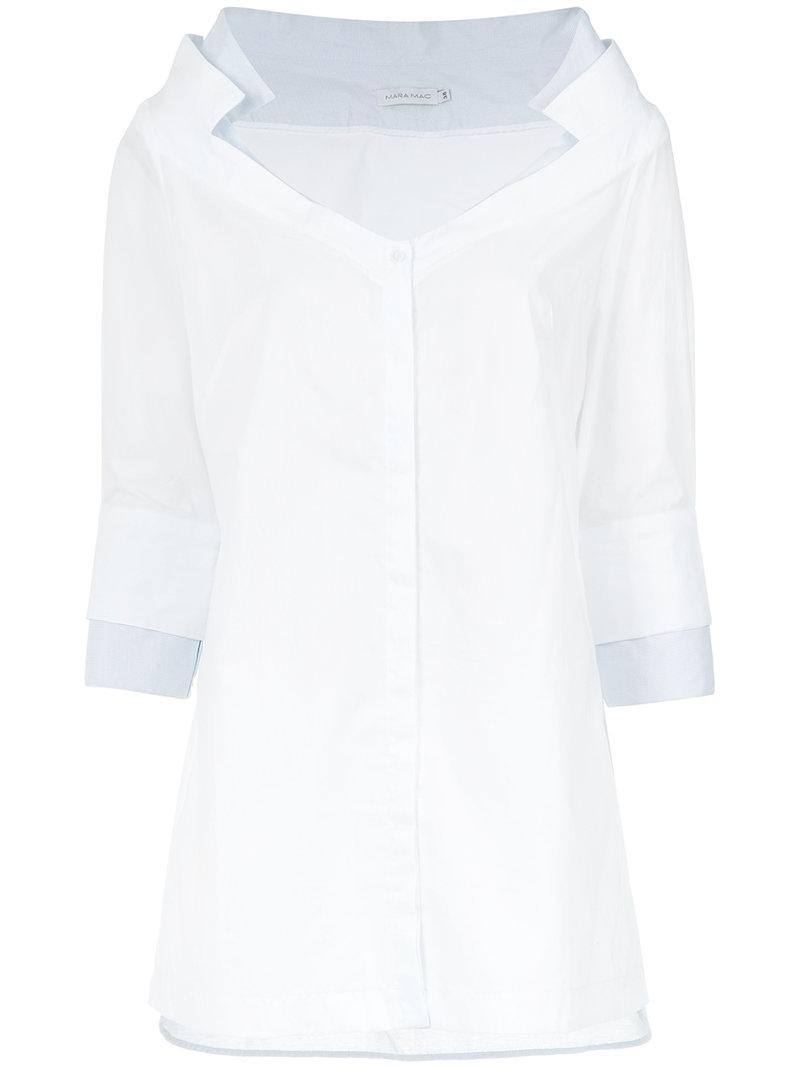 Pick A Best Outlet Nicekicks printed longsleeved shirt - Unavailable Mara Mac Lowest Price Sale Online Discount 2018 Free Shipping Footlocker Pictures J7LNnem1