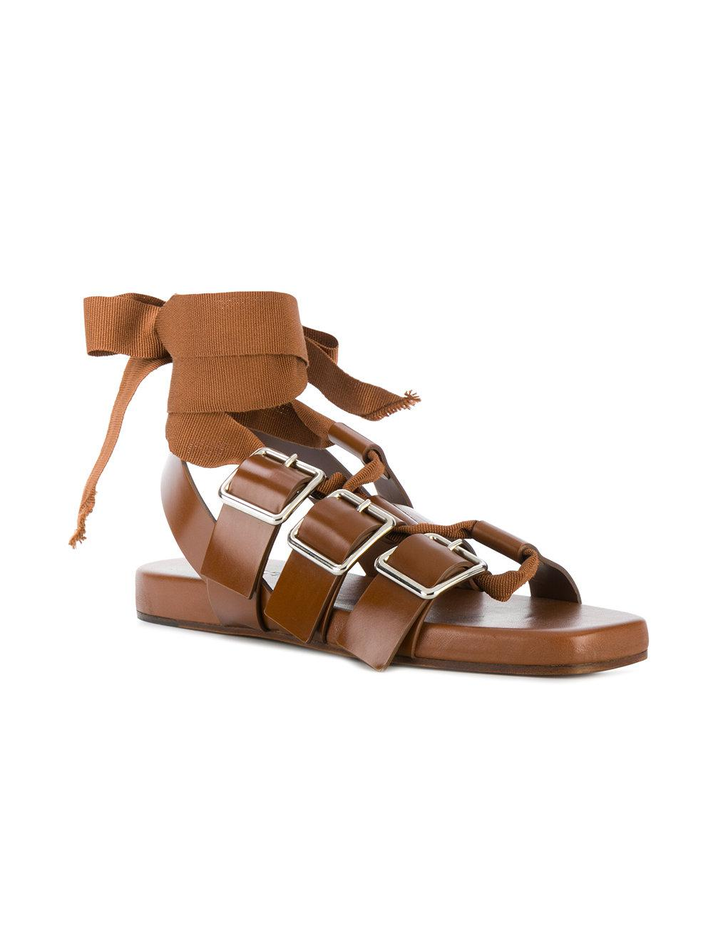 Jil Sander Antick buckled sandals Release Dates Authentic Sale Popular Wholesale Price Cheap Sale 2018 Free Shipping Fashion Style qMPgd8