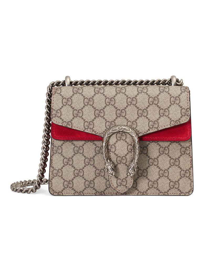 1b3284b3a575 Gucci. Women s Dionysus GG Supreme Mini Bag