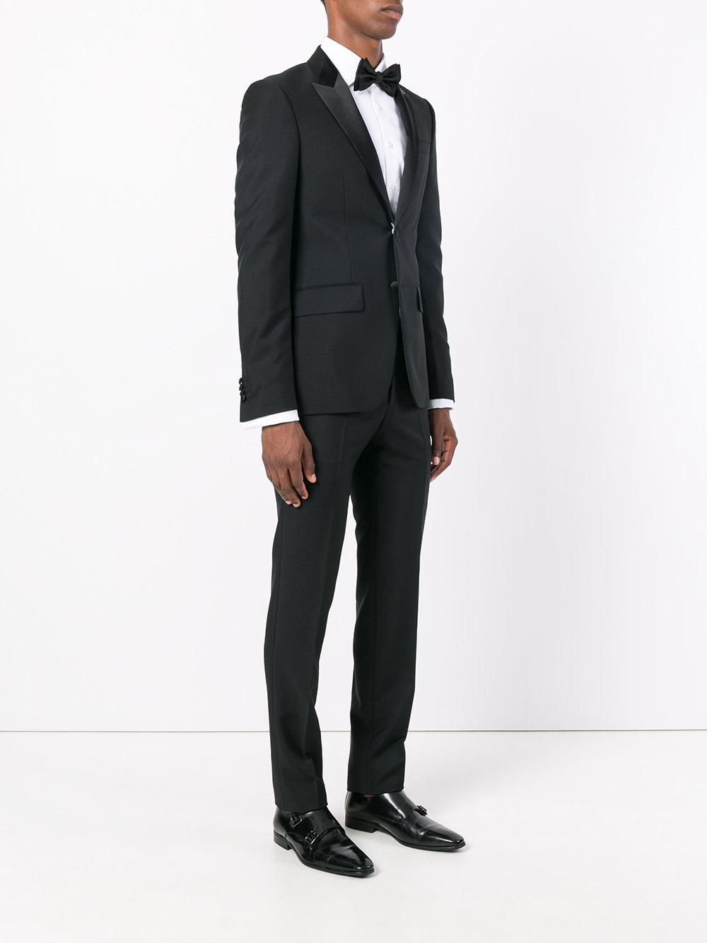 Givenchy Cotton Formal Suit in Black for Men
