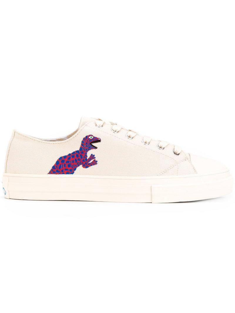 snakeskin effect sneakers - Pink & Purple Paul Smith 4xUk2