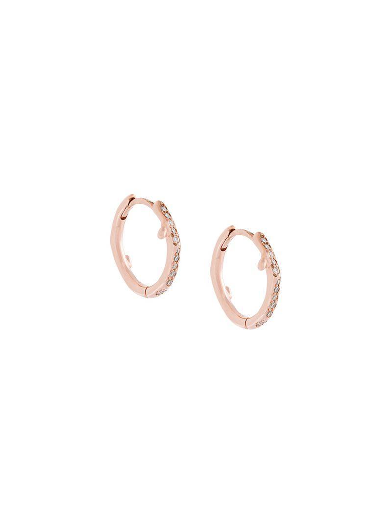 Shaun Leane Cherry Branch diamond hoop earring - Metallic spHgaqkH