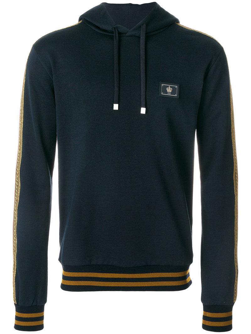 Military style hoodie