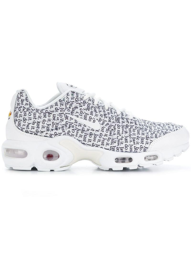 outlet store f5947 67828 Nike. Women s White Air Max Plus Se Sneakers