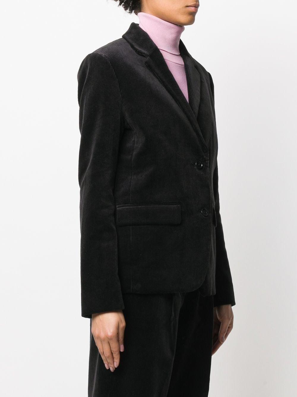 Blazer ajusté en velours côtelé Velours côtelé YMC en coloris Noir
