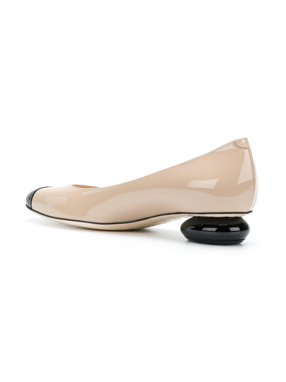 mink patent calf patent bette pump - Nude & Neutrals Bottega Veneta Outlet Geniue Stockist Lowest Price Online Affordable Sale Online Cheap Sale Recommend yIMjyg