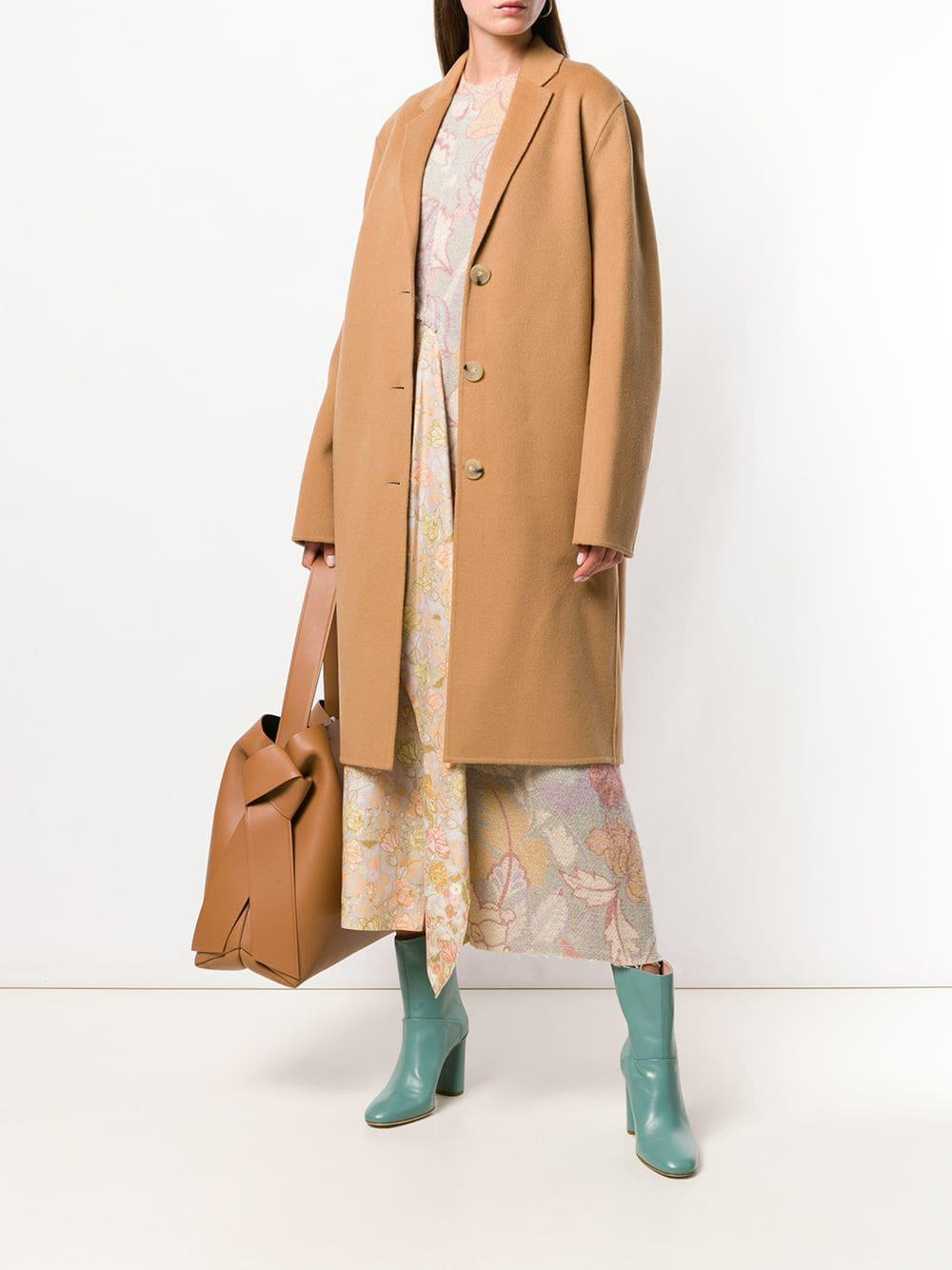 245ebd818 Lyst - Acne Studios Avalon Double Tailored Coat in Brown