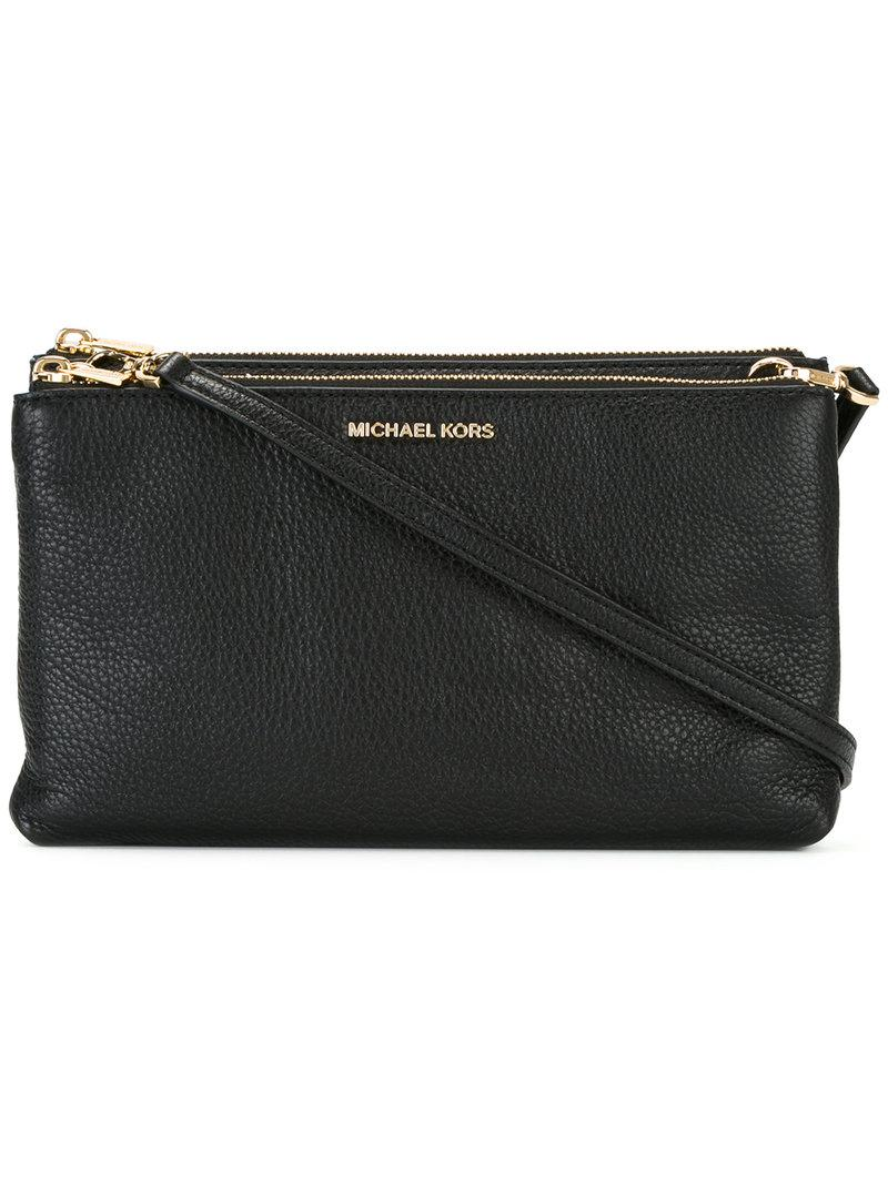 a4eaf6d2e30ffe MICHAEL Michael Kors Adele Crossbody Bag in Black - Save 49% - Lyst
