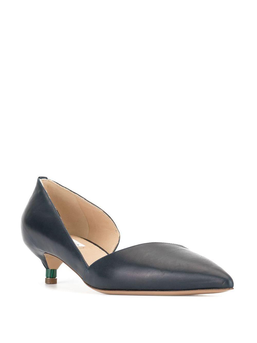 Zapatos de tacón Nino Gabriela Hearst de Cuero de color Azul