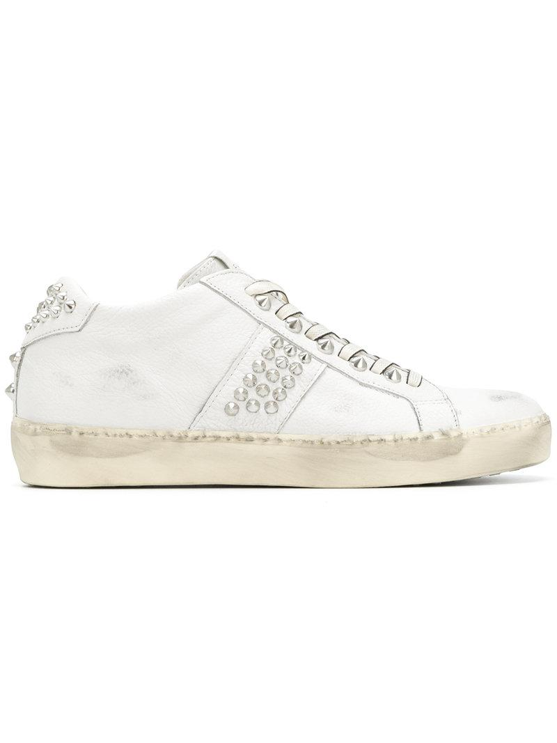Leather Crown Wiconic stud sneakers best prices online dKv3Zy