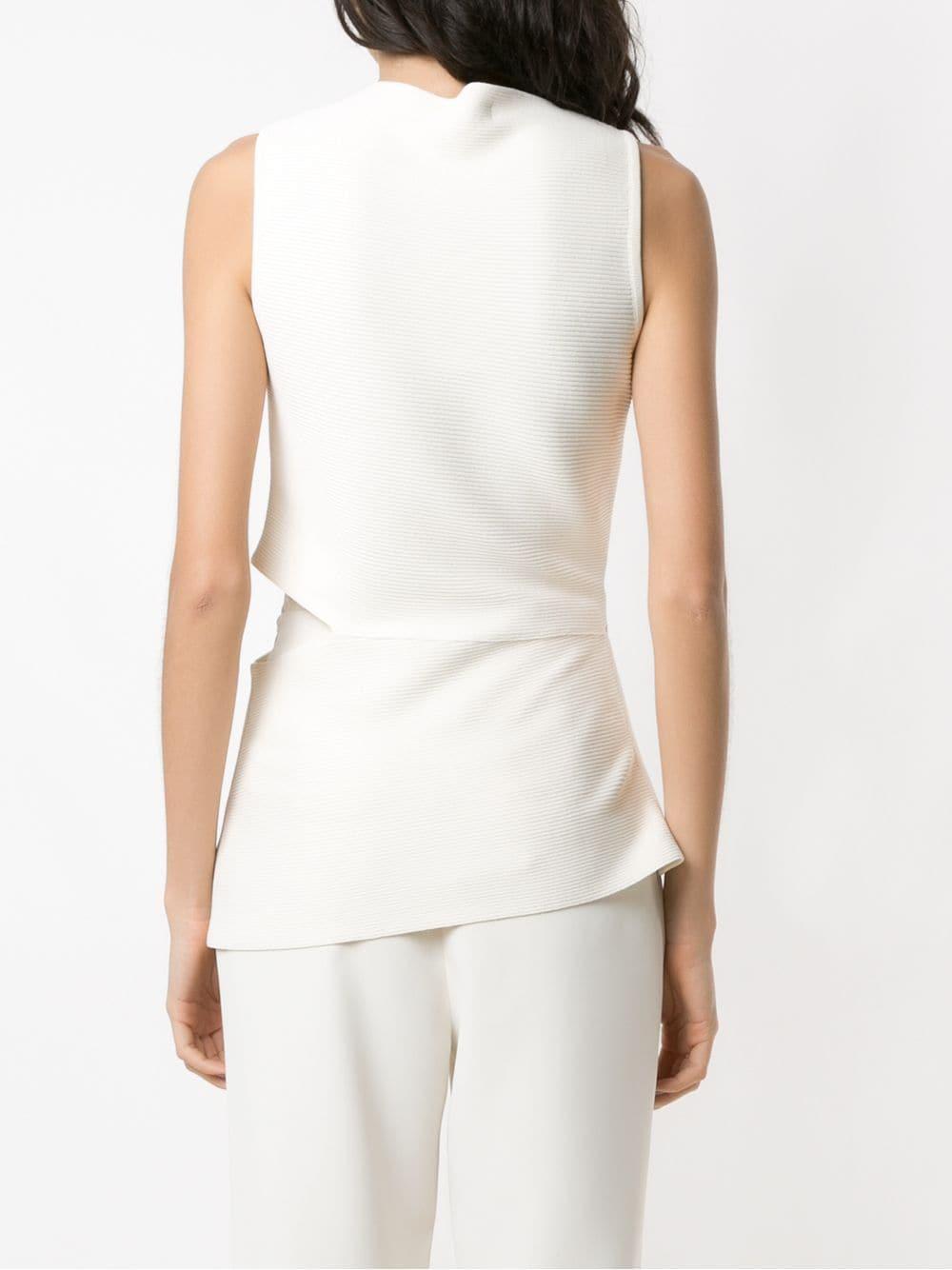 Blusa de punto con aberturas Egrey de Tejido sintético de color Blanco