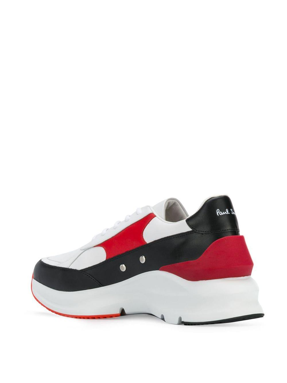 Paul Smith Low-top Sneakers in het Wit voor heren