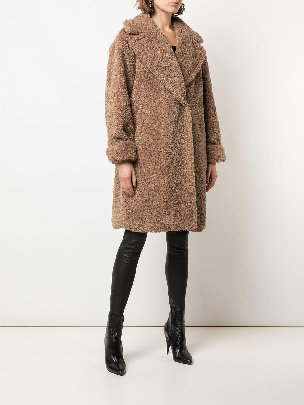Manteau Charlie Alice + Olivia en coloris Marron iJPRw