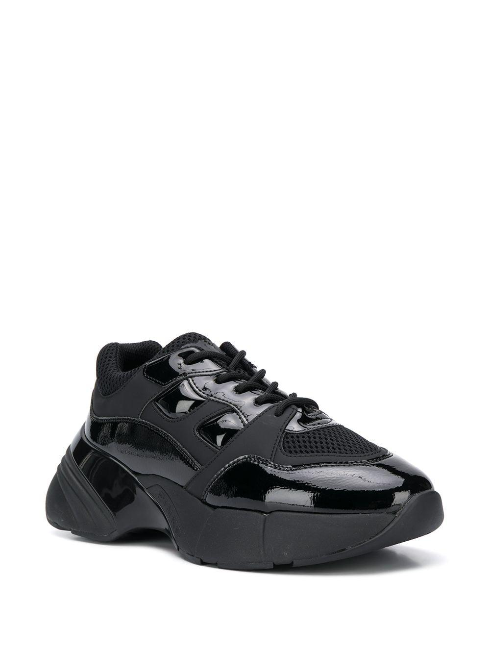 Zapatillas Shoes To Rock Pinko de Cuero de color Negro