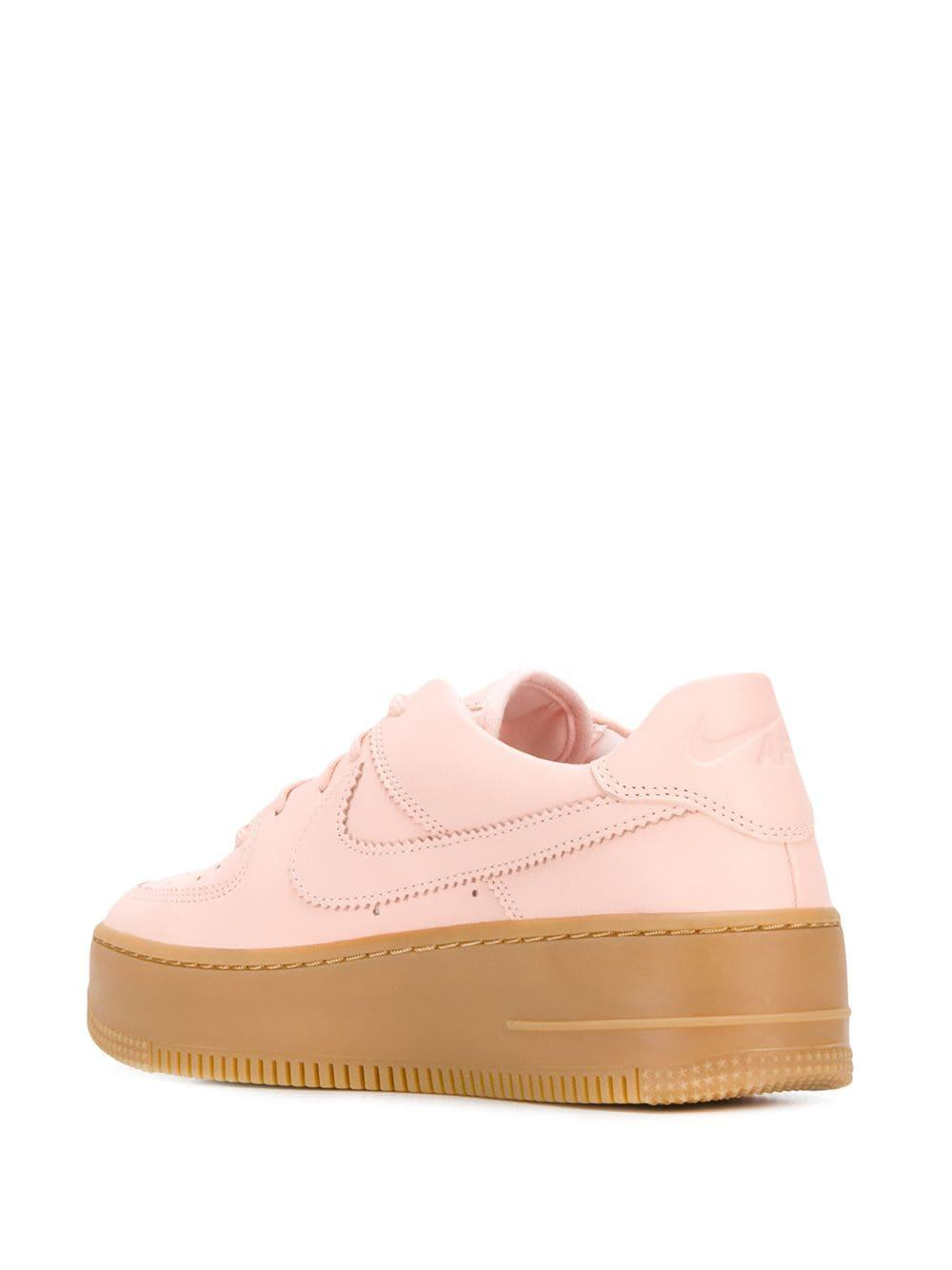 nike air force sage low pink